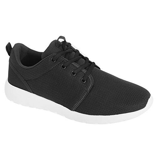 Dek Superlight Mens Jupiter Memory Foam Stringate Sneakers Nere