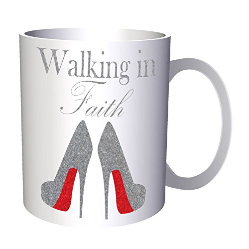 walking in faith 11oz Mug ee218 by INNOGLEN