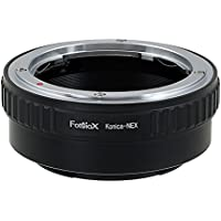 Fotodiox Lens Mount Adapter - Konica Auto-Reflex (AR) SLR Lens to Sony Alpha E-Mount Mirrorless Camera Body