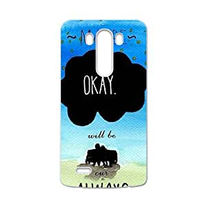 May Be Okay Fashion Comstom Plastic case cover For LG G3