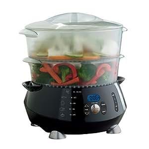 Amazon Com Food Network 7 Quart Food Steamer Steamer