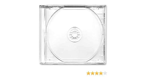 Four Square Media. Caja CD o DVD 10,4 mm, 100 unidades, con ...