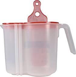 SONGBIRD ESSENTIALS 008104 Nectar Aid Self Measuring Pitcher Clear/Red