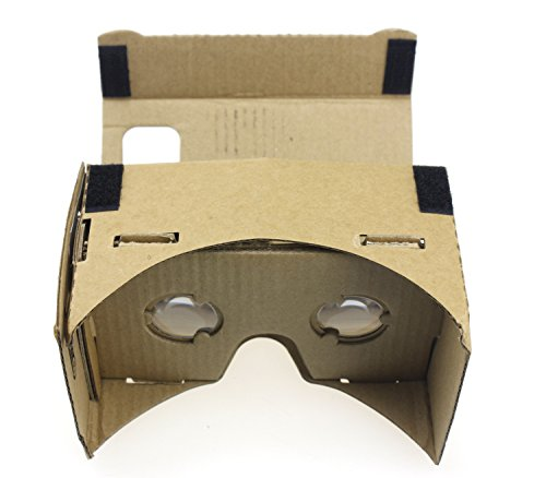 """QWinOut DIY 3D Glasses Mobile Phone Cardboard VR Virtual Reality Viewing Tool Kit for 5.0"""" Screen"""