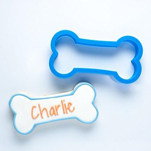 Charlie Dog Bone Cookie Cutter (4.5 - Large) - 3d Dog Bone