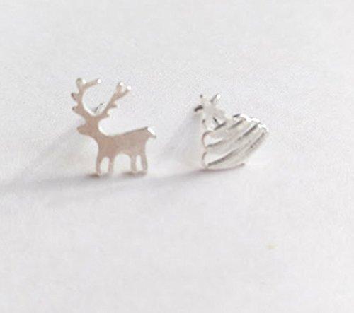 Selia Origami Hirsch Ohrring Bambi Weihnachtsschmuck Ohrstecker ...