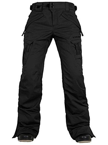 686 Authentic Smarty Cargo Pant, Black, -