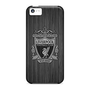 Anti-scratch And Shatterproof Liverpool Fc Iphone4 Phone Case For Iphone 5c/ High Quality Tpu Case