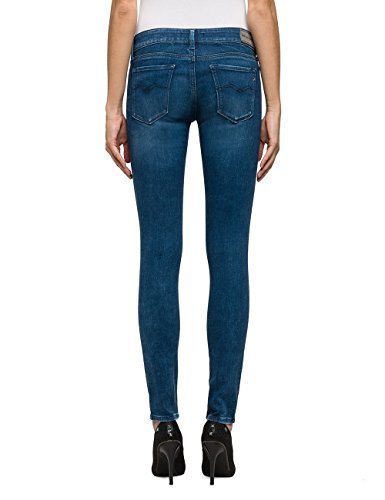 Ajustados Para Azul Mujer 9 Jeans Replay Luz blue Denim 6qxwEFtF