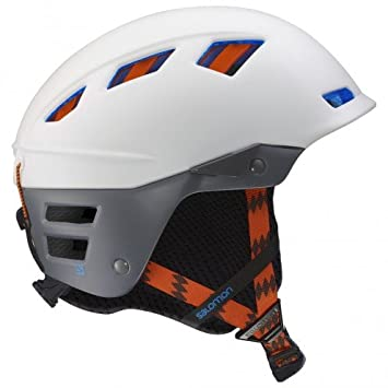 001894b984c Salomon MTN Lab Ski Helmet Matte White/Grey, white: Amazon.co.uk ...