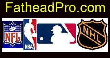 St. Louis Cardinals Fathead MLB Team Set 6 Player Wall Graphics