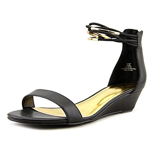 Casual Open Sodi Womens Sandals Platform Toe Thalia Black Leyna TXARawwq