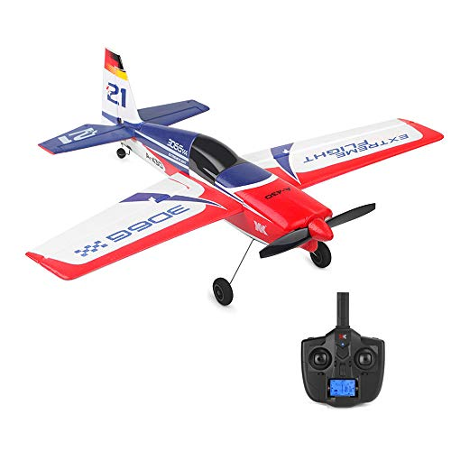 Wotryit XK A430 2.4G 5CH Brushless Motor 3D6G System RC Airplane EPS Aircraft Vertical Take Off Land Delta Wing RC Flying Aircraft Toys RC Glider Indoors & Outdoors_Small ()