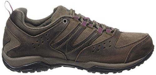 Cordovan 231 Zapatillas Peakfreak trekking Columbia Raspberry Outdry Dark de Marrón Mujer 4Bnx0Pq