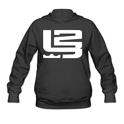 YQUE Women's Lebron 23# James Basketball Player Hoodies H...