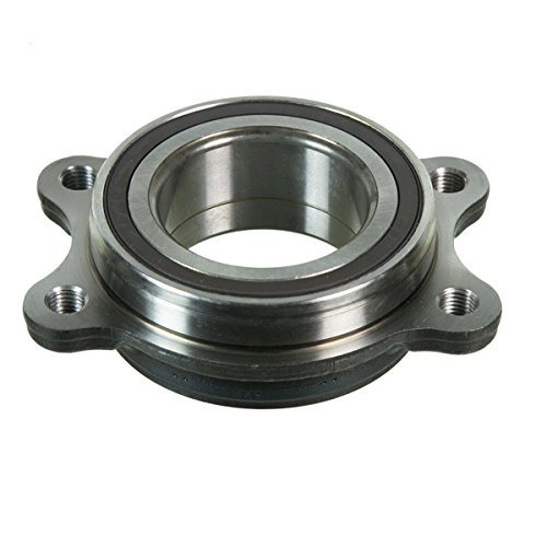 (Detroit Axle - New Front Driver or Passenger Wheel Bearing Module Assembly for Audi Models)