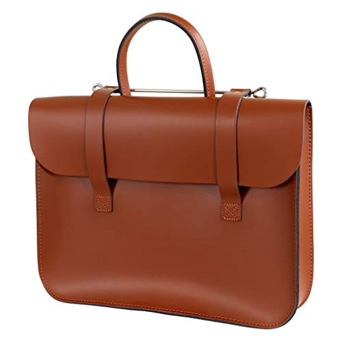 Oxford Traditional Leather MC1-LT London Tan Music Case ()