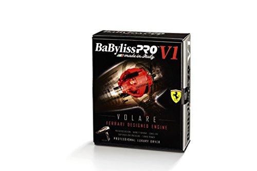 "BaBylissPRO BaBylissPRO Ionic & Nano-Titanium ""Volare"" Hairdryer- Black , Black , 1 lb."