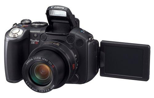 amazon com canon powershot pro series s5 is 8 0mp digital camera rh amazon com
