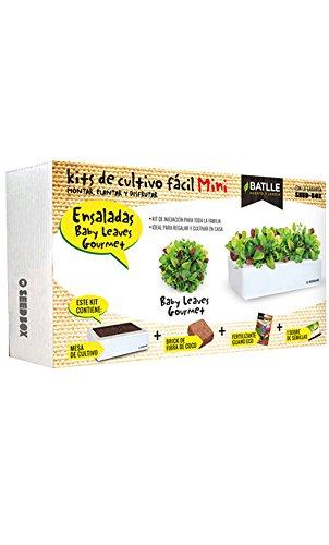 Huerto Urbano - Seed Box Mini Ensaladas - Batlle Semillas Batlle 160114UNID