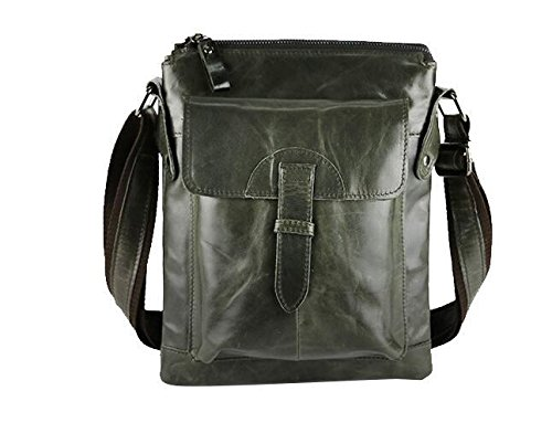 DJB/Kleine Leder Schulter Mann Tasche Herren der Header Schicht aus Leder Freizeit Wave Paket