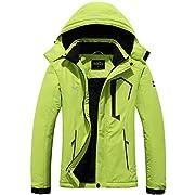 Pooluly Women's Ski Jacket Warm Winter Waterproof Windbreaker Hooded Raincoat Snowboarding Jackets