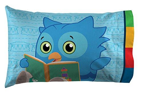 Jay Franco Daniel Tiger's Neighborhood 4 Piece Toddler Bed Set - Super Soft Microfiber Bed Set Includes Toddler Size Comforter & Sheet Set - (Official Daniel Tiger's Neighborhood Product) 7