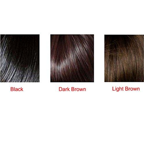 Binmer(TM)Fashion New Womens Ladies Short Straight Full Bangs BOBO Hair Cosplay Wig Choose the Color You Want (Black)