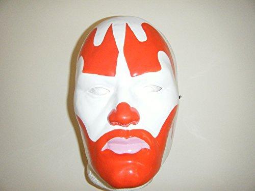 [Wrestling Masks Uk Insane Clown Posse Thermo Plastic Universal Mask Red] (Icp Clown Costume)