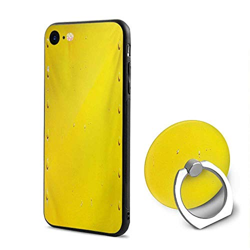 Yellow iPhone 6/iPhone 6s Cases,Vintage Worn Out Dirty Industrial Wall Plate and Tacks Photo with Productivity Theme Yellow,Design Mobile Phone Shell Ring Bracket