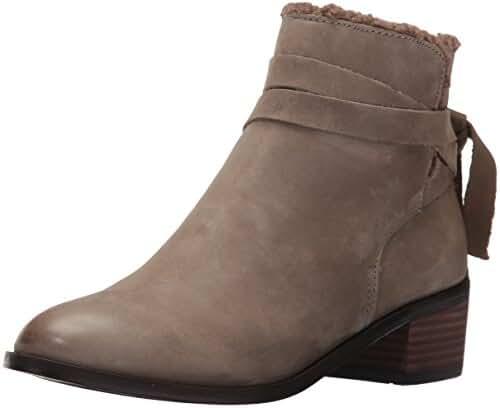 Aldo Women's Mykala Ankle Bootie, Grey Nabuck, 7.5 B US
