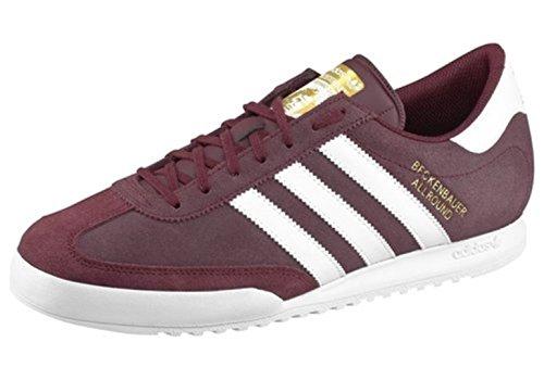 Adidas Originals BECKENBAUER, Herren Sneaker Fußball, M17900, braun/weiß/gold NEU & OVP Braun