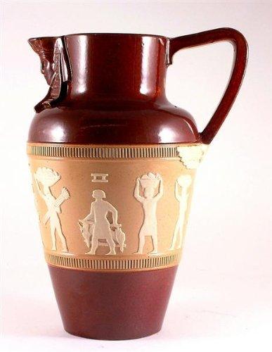 Amazon C1905 Antique Royal Doulton Egyptian Pattern Jug Home