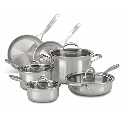 kitchen aid 10 piece cookware set - 9