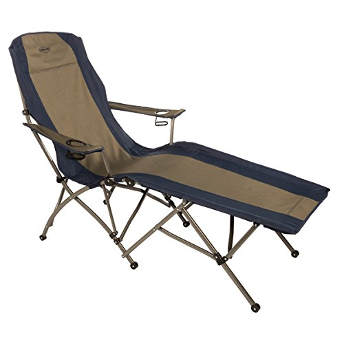 Folding Soft Arm Chaise Lounge Chair by Kamp-Rite