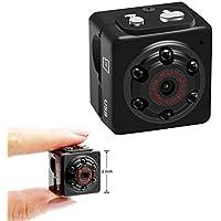 Aufikr Mini Camera Recorder 1080P Sports HD DV Portable Small Camera Mini Sound Video Camera with Motion Detection, Home Surveillance Camera Nanny Cam, Support up to 128GB External Capacity