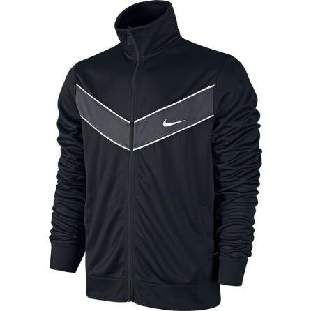 - nike 717285010 mens black and white striker sweatshirt (2xl)