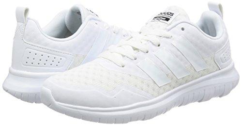 W Sneaker Flex Cloudfoam 001 Mehrfarbig Damen Lite adidas White xqFZnpC