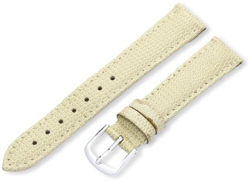 LSL725RD 160 16-mm Beige Java Lizard Grain Watch Strap (Beige Lizard)