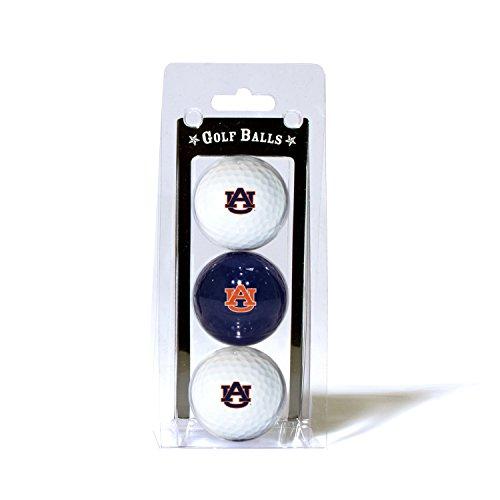 Auburn University 3-Pack Golf Balls