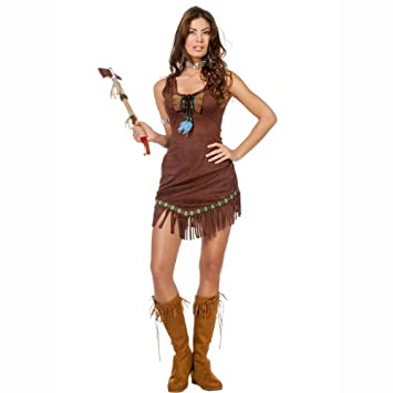 Party Discount Neu Damen Kostum Indianerin Lomasi Gr 34 Amazon De