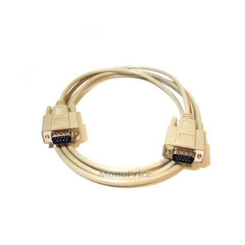 (Monoprice 6ft HD15M/DB9M Cable for NEC Monitor)