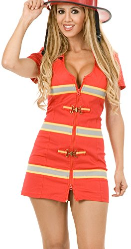 Fire Fox Red Costumes (Red Fire Fox Adult Costume - X-Small)