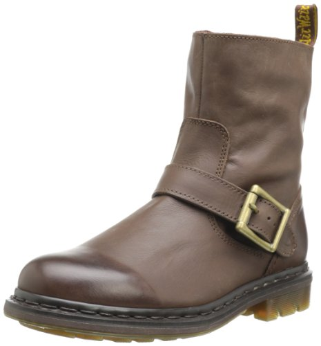 Dr Martens Meg Darkened Mirage, Damen Stiefel & Stiefeletten Braun - Marron (Dark Brown)