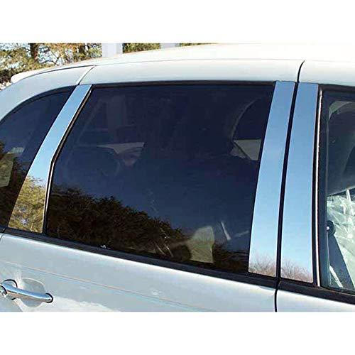 Brighter Design 6pc. Chrome Pillar Post Trim fit for 2003-2010 Chrysler PT Cruiser ()