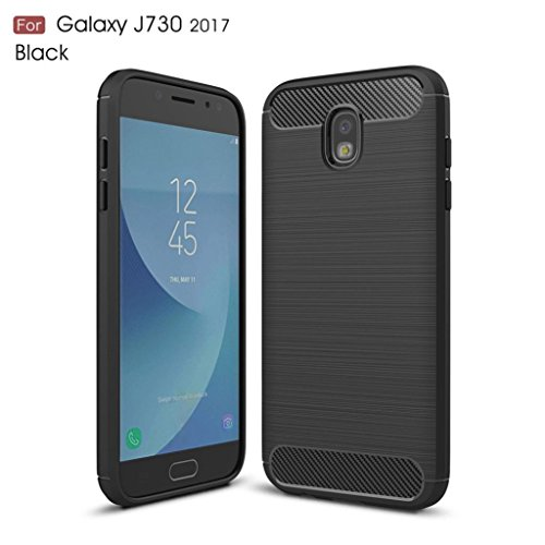 LLguz Light Weight Elegant Rubber Rugged Silicone Matte Phone Protection Case Cover For Samsung Galaxy J7 Pro 2017 (J730) (Matte Silicone)