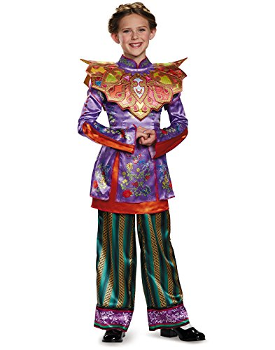 Alice Asian Look Deluxe Alice Through The Looking Glass Movie Disney Costume, Large/10-12