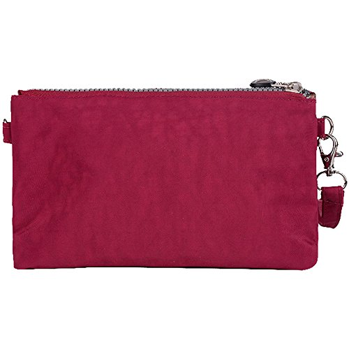 purplish Casual Design purple Pouch Nylon Women New red Phone Money Pocket Purse Wiwsi Clutch Bag 7wOBCz0q0