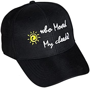 481f313fee3cd BLUEUK pequeño sombrero de béisbol al aire libre fresco ocio pato sombrero  de béisbol personalidad letras de la personalidad sombrero de la lengua  (black)