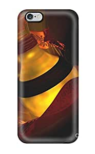 AmandaMichaelFazio Iphone 6 Plus Well-designed Hard Case Cover The Elixir Red Black Light Bottle Glass Mistery Protector